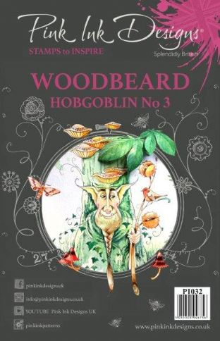 Pink Ink Designs A5 Clear Stamp Woodbeard Hobgoblin 3